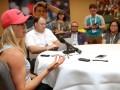 Свитолина: Суарес-Наварро пытается доминировать в матче, но я буду готова