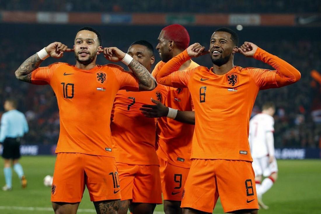 Нидерланды разгромили Беларусь