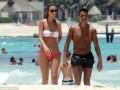 Новичок Арсенала со своей подругой отдыхает на пляжах Мексики (фото)