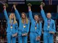 Фехтование: Женская сборная Украины вышла в полуфинал Олимпиады