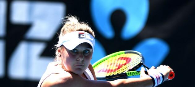 Козлова потерпела поражение на турнире в Хобарте
