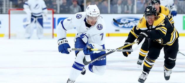 НХЛ: Тампа по буллитам обыграла Бостон, Миннесота всухую уступила Монреалю
