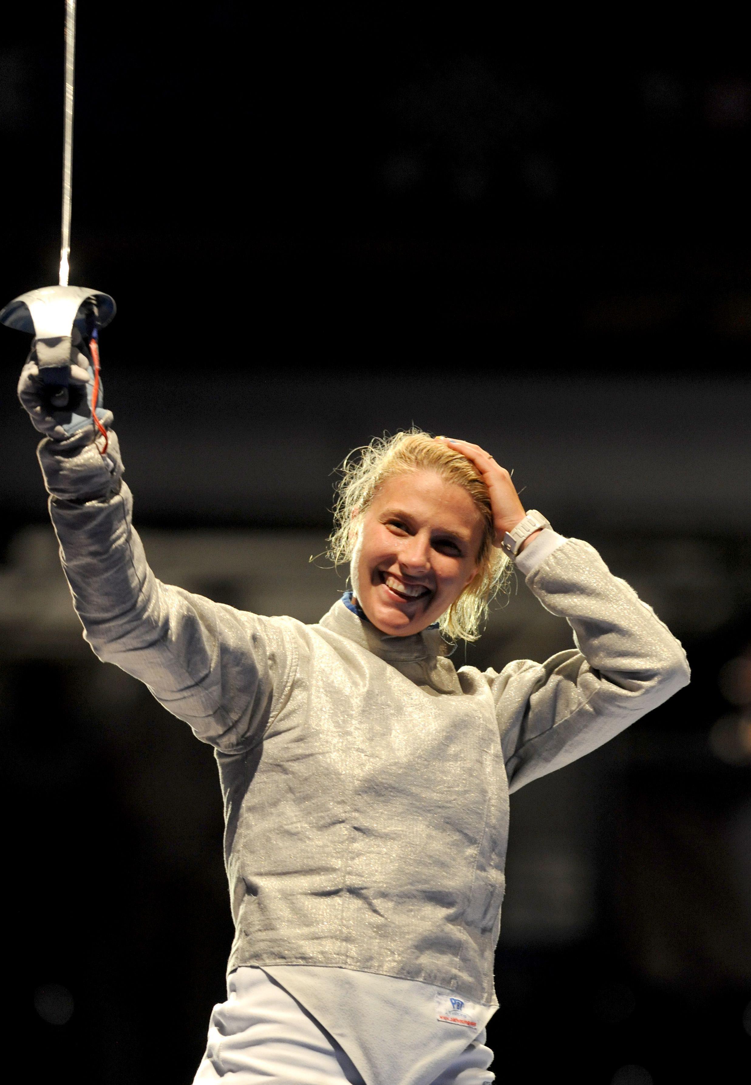 Ольга Харлан стала в 2013 году сильнейшей саблисткой мира
