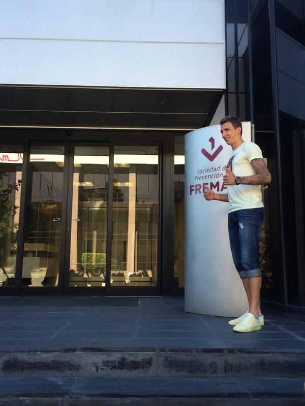Марио Манджукич переходит в Атлетико