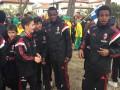Чернокожих игроков детской команды Милана оскорбили родители соперников за цвет кожи