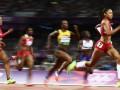 Долгожданное золото. Американка выигрывает бег на дистанции 200 метров