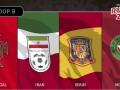 Группа B на ЧМ-2018: расписание и результаты матчей