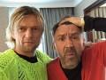 Тимощук встретился с лидером группы Ленинград