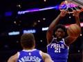 Сокрушительный данк Эмбиида – среди лучших моментов дня НБА
