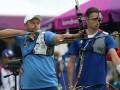 Олимпиада-2012: Украинские лучники победили хозяев турнира и вышли в четвертьфинал