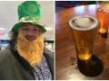 Худеющий Фьюри позволил себе пиво в День святого Патрика