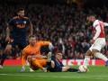 Арсенал уверенно обыграл Валенсию в Лиге Европы
