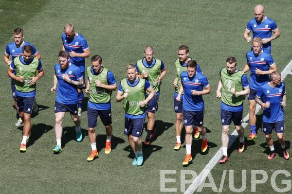 Исландия: Где смотреть матч Украина