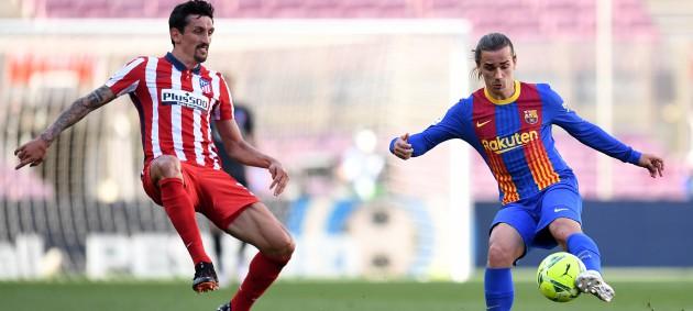 Барселона и Атлетико сыграли в нулевую ничью
