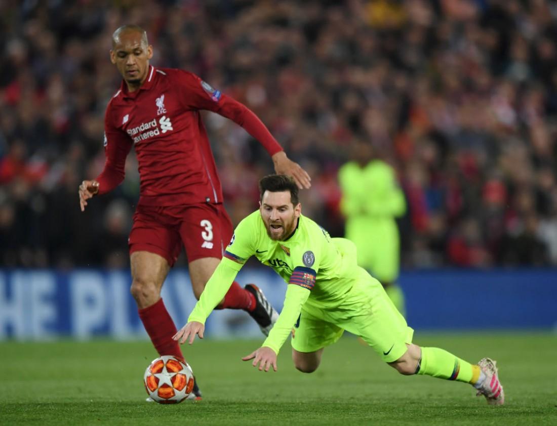Ливерпуль принимал Барселону на Энфилде 7 мая 2019 года