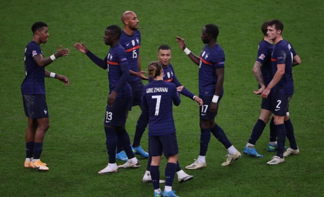 Матч Лиги наций Франция - Швеция