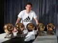 Adidas выпустил новые бутсы для Месси в честь пятого Золотого мяча