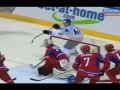 Как рукой. Финн забрасывает невероятную шайбу в ворота сборной России