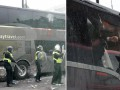 Болельщики Вест Хэма атаковали автобус Манчестер Юнайтед