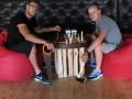 Эксперты телеканала Футбол 1 сразились в шахматы с пилой и топором