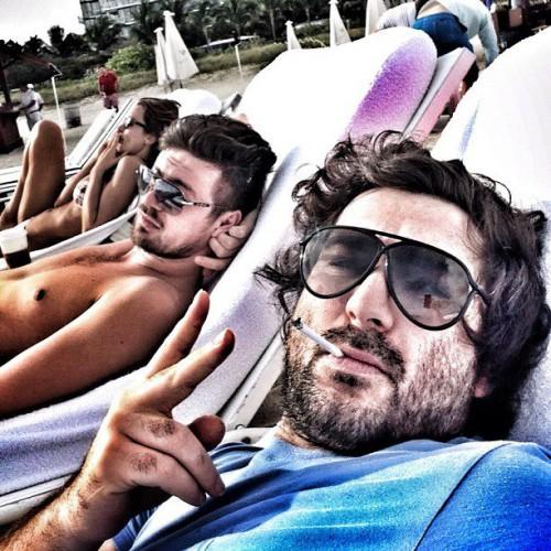 Адлейба и Милевский отдыхают в Майами