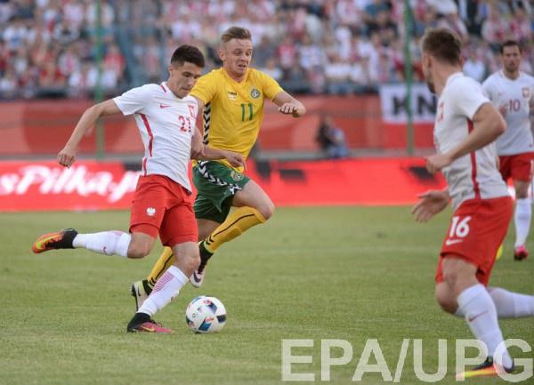 Польша и Литва голов не забивали