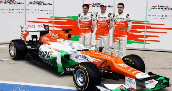 Болид 2012 года - Force India 2012 VJM05