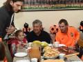 Луческу и Кучер перед матчем с Волынью посетили детский дом