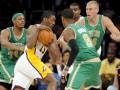 NBA: Лейкерс с трудом одолели Бостон
