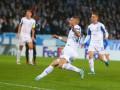 Миколенко сравнял счет в матче против Мальме, прокинув мяч голкиперу между ног
