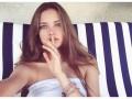 Красотка пятницы: Красавица-дочь известного теннисиста