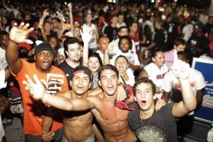 Американское безумие. Как фанаты Майми праздновали чемпионство в NBA