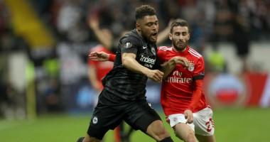 Айнтрахт - Бенфика 2:0 видео голов и обзор матча Лиги Европы