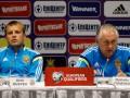 Тренер сборной Украины: Задача стоит такая - попасть в финальную часть Евро-2016