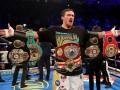 Усик стал лучшим иностранным боксером года в Великобритании