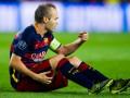Следом за Месси: Барселона потеряля Иньесту на 4-6 недель