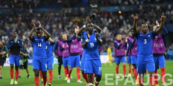 Сборная Франции на пути в плей-офф