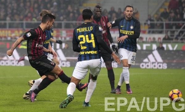 «Милан» и«Интер» разыграли результативную ничью вдерби «Делла Мадоннина»