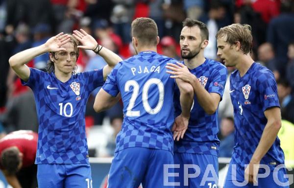 Сборная Хорватии минимально обыграла Турцию