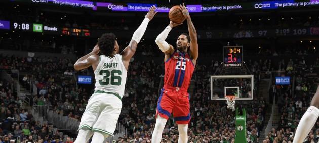 НБА: Детройт с Михайлюком обыграл Бостон, Хьюстон проиграл Портленду