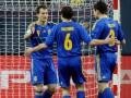 Футзал. Украина начинает Евро-2014 с победы