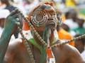 На футбольном поле в Руанде поймали шамана