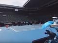 Известная теннисистка прошла по коридору славы и показала главную арену Australian Open