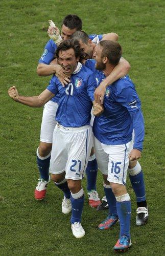 Пирло - ключевой игрок сборной Италии