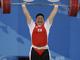 Миран Джанг в сумме подняла 326 кг, что является новым мировым и Олимпийским рекордом