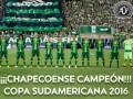 Шапекоэнсе признали победителем Южноамериканского кубка