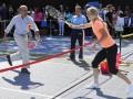 Президент США Барак Обама сыграл в теннис с одной из самых красивых теннисток мира