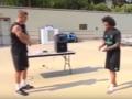 Игроки Реала поиграли мячом из собственных носков