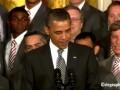 Как Месси. Обама сравнил себя с лучшим футболистом планеты