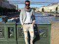 Милевский прогулялся по Санкт-Петербургу